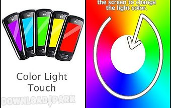 Color light touch