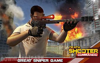 Death shooter commando 3d