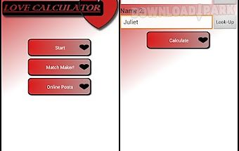 Love calculator - match maker