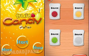 Make candy fruit-cooking games