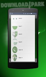 pakistani face flag