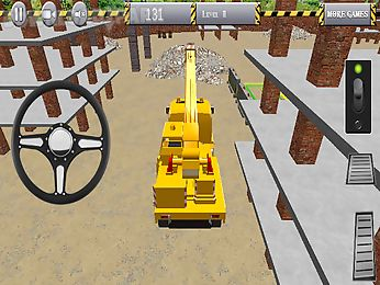 crane parking 3d