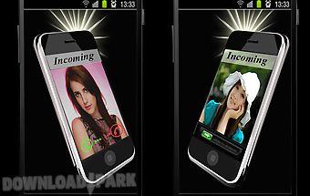 Flash on call & sms alert