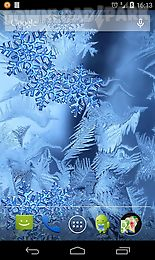 frozen glass live wallpaper hd