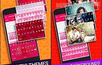 Love pink keyboard