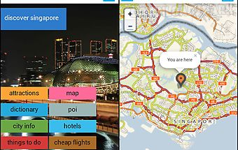 Singapore offline map & guide