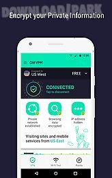 cm security vpn -free fast vpn