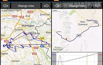 Gps track browser - free