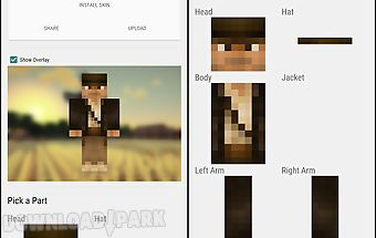 Skin editor for minecraft pe