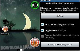 Tap tap app( screen on-off )