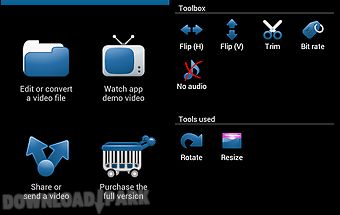 Video toolbox editor (trial)