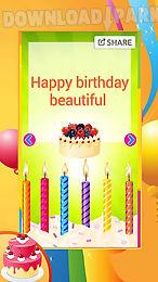 Birthday Greeting Cards Android Anwendung Kostenlose Herunterladen