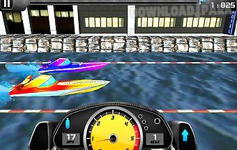 Boat drag racing free 3d