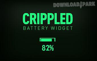 Crippled - battery widget