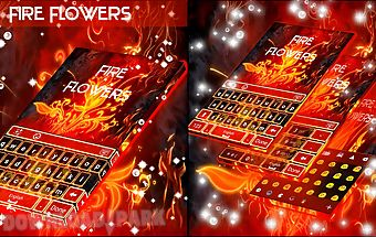 Fire flowers keyboard
