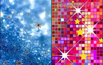 Glitter live wallpapers