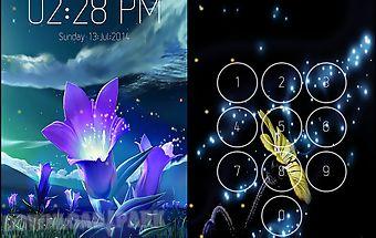 Night sky screen lock