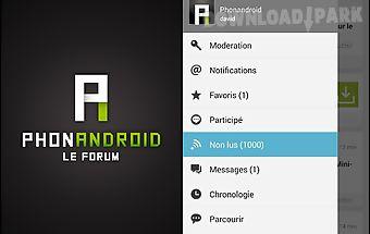 Phonandroid forum