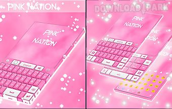 Pink nation keyboard