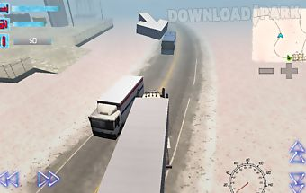 Trucker 3d alaska winter roads