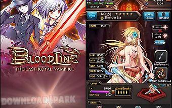Bloodline: the last royal vampir..