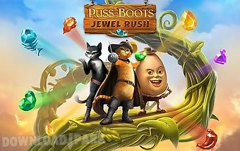 Puss in boots: jewel rush