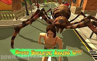 Spider simulator: amazing city!