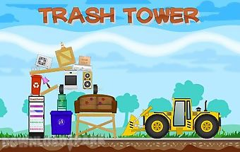 Trash tower
