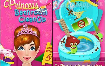 Princess bathroom cleanup
