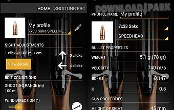 Sako ballistics calculator
