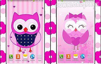 Sweet owl live wallpaper