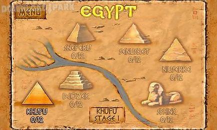 brickshooter egypt: mysteries