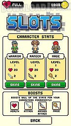pixel monsters: slots