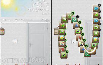 Dreamhouse next launcher theme