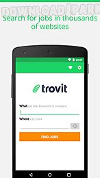 find job offers - trovit jobs