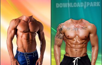 Gym body photo maker