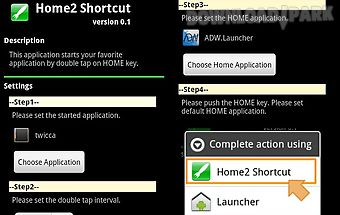 Home2 shortcut