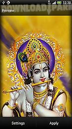 krishna live wallpaper