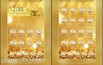 Luxury gold theme deluxe