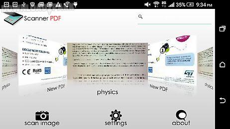 scanner pdf