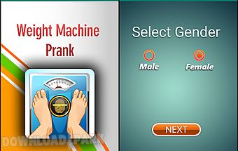 Weight machine scanningprank
