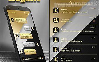 (free) go sms elegant theme