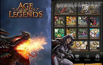 Age of legends: kingdoms rpg
