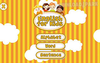 Belajar english for kids
