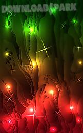 glowing live wallpaper