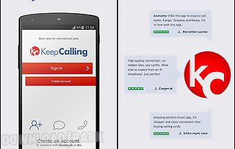 Keepcalling – best calling app