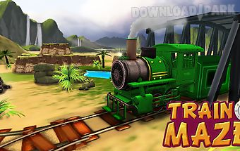 Train maze - rail 3d