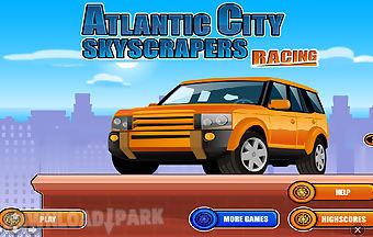 Atlantic city skyscrapers racing