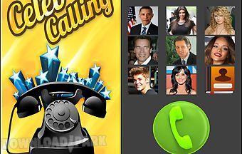 Celeb calling