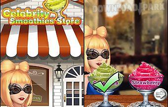 Celebrity smoothies store